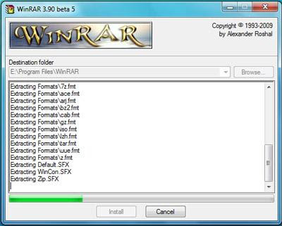 Download WinRAR 5.50 Beta 1 Full Version Free PC