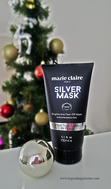 Marie Claire Silver Mask
