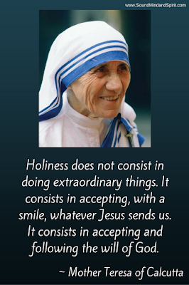Mother Teresa of Calcutta quote with image