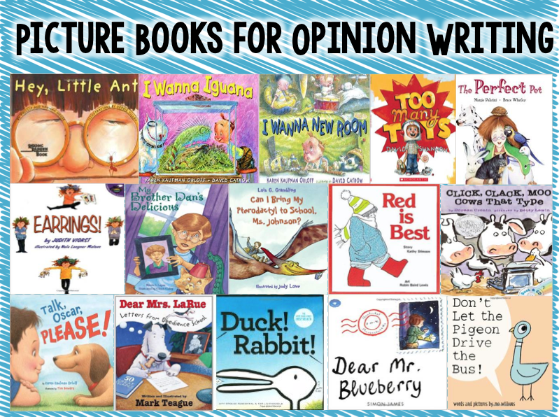 books that teach fact and opinion
