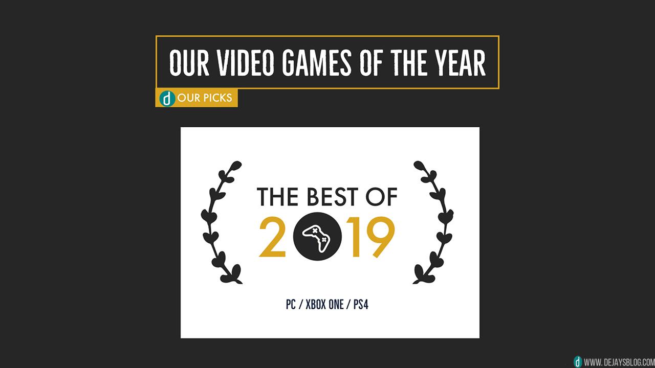 The best video games of 2019 - DE JAY'S BLOG