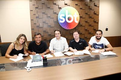 Marlei, Maurício, Fernando Pelegio, Porpetone e Matheus (Crédito: Gabriel Cardoso/SBT)