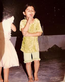 Yesha Rughani childhood photo