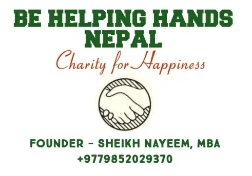 BE HELPING HANDS NEPAL