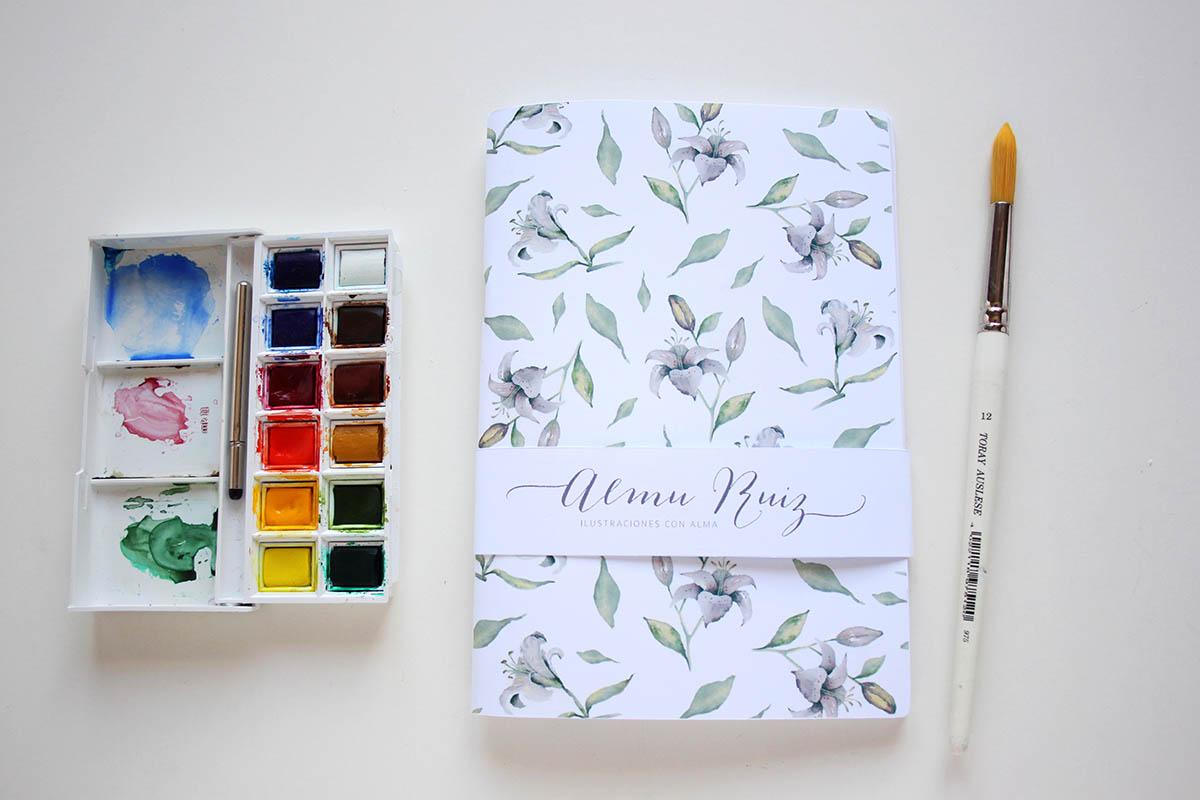Cuaderno hecho a mano Almu Ruiz