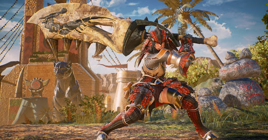 Monster Hunter is coming to Marvel Vs Capcom Infinite