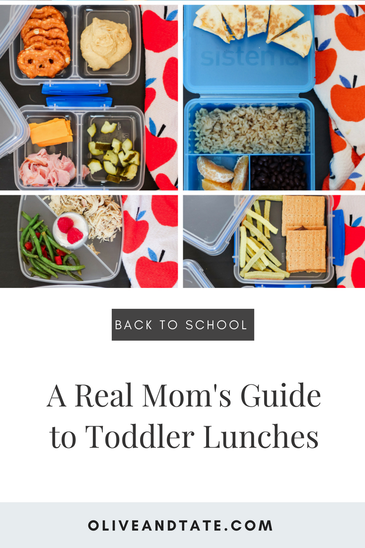 A Real Mom's Guide to Toddler Lunches