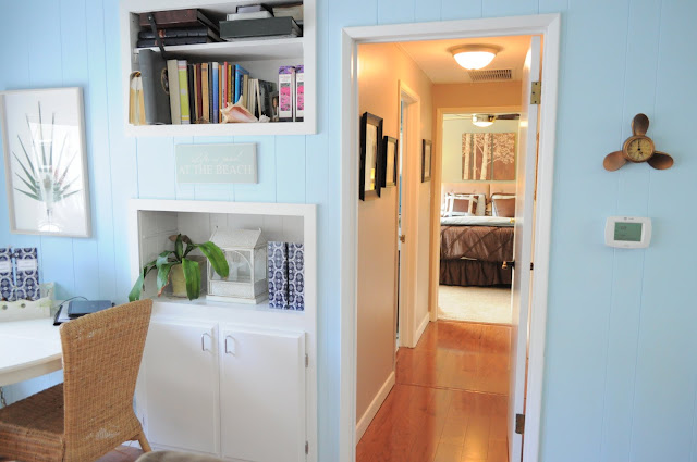 Family Room of Organizing Made Fun's home tour