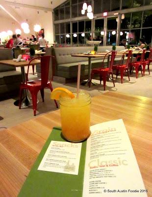 Vinaigrette Austin -- ginger turmeric tonic