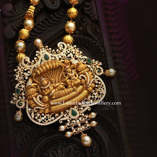 Diamond Vishnu Pendant