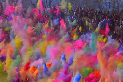 Beautiful 2016 HD Colorful Happy Holi