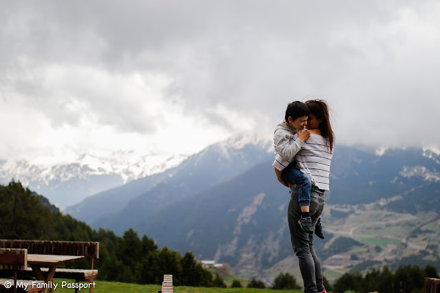 Andorra con niños