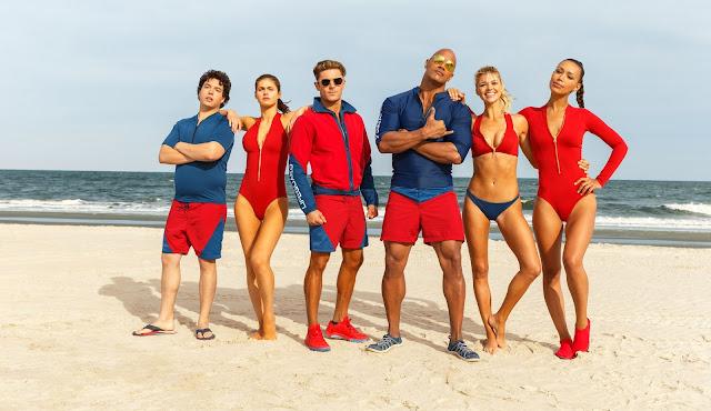 """Dwayne Johnson e Zac Efron na primeira imagem oficial de """"Baywatch"""""""
