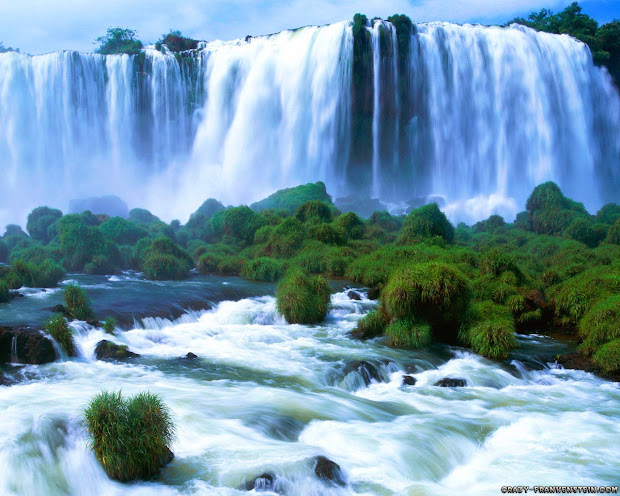 Beautiful Wallpapers Of Waterfalls Clickandseeworld Funny Amazing