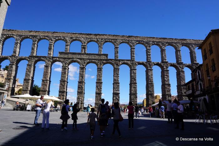 Aqueduto de Segóvia Espanha
