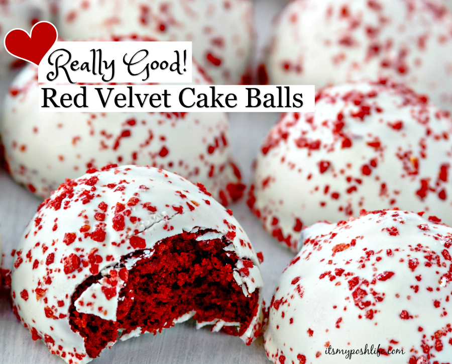 Easy red velvet cake ball recipes