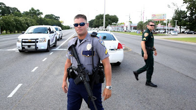 Baton Rouge: Three US police officers shot dead