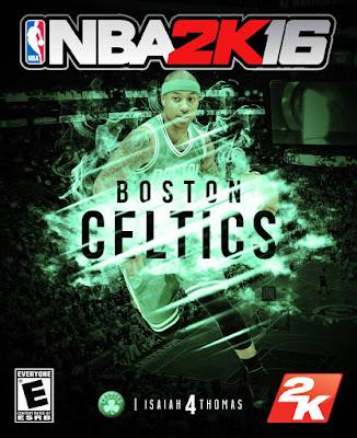 NBA 2K16 Custom Covers - Boston Celtics