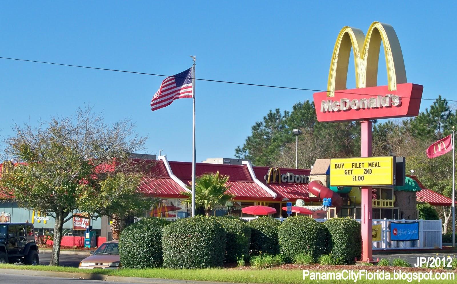 Fast Food Restaurants In Panama City Beach Florida