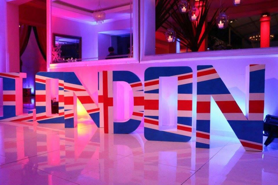 decoracao festa londres:Festas Toni – Decoração de Festa: Londres / London – Cenário