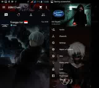 Modifikasi Terbaru khusus buat pengguna Ponsel Android yang bertemakan Black Edition Download BBM MOD 2016 Terbaru - Black Edition