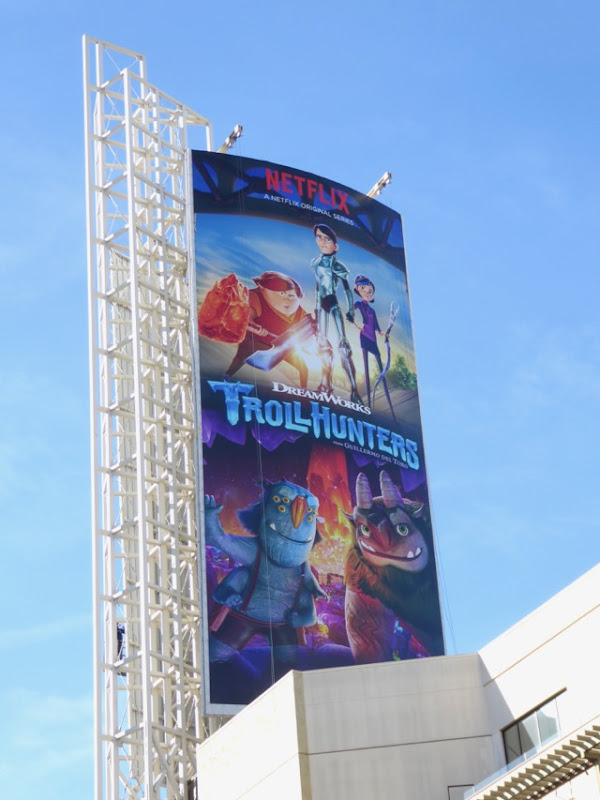 Trollhunters season 1 billboard