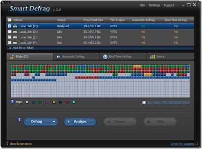 Smart Defrag 2, brzi i besplatni defragmenter diska   IT