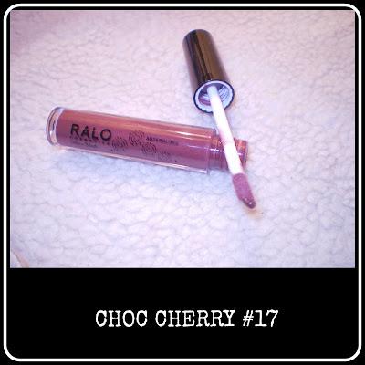 Choc Cheery lipgloss