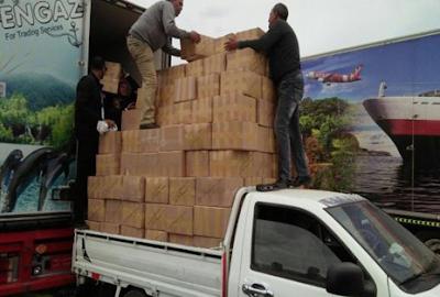 إحباط تهريب 6 ملايين قرص أدوية داخل مقطورة بميناء سفاجا
