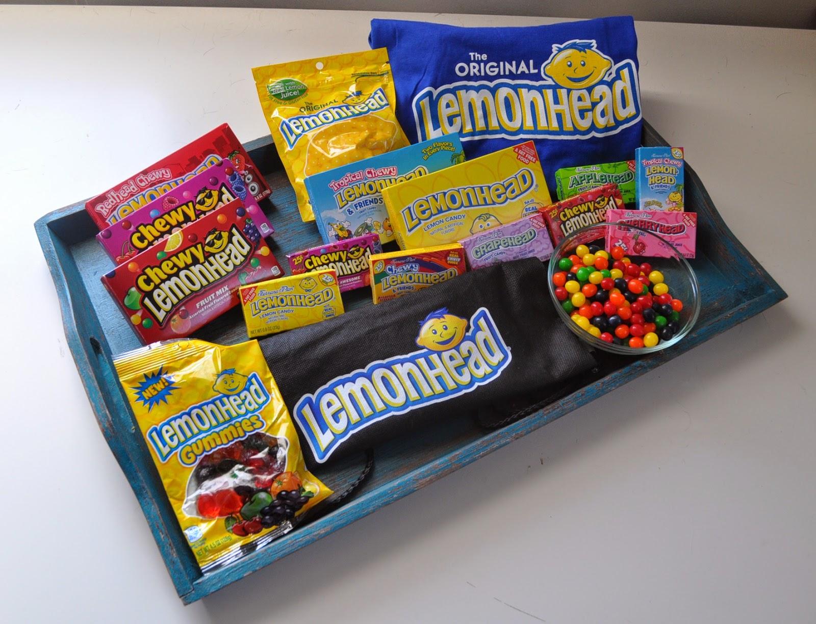 Giveaway: Lemonhead Candy | The Food Hussy!