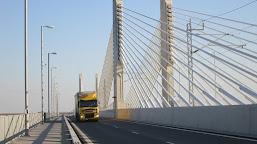 Circulația pe podul Calafat-Vidin, întreruptă temporar joi