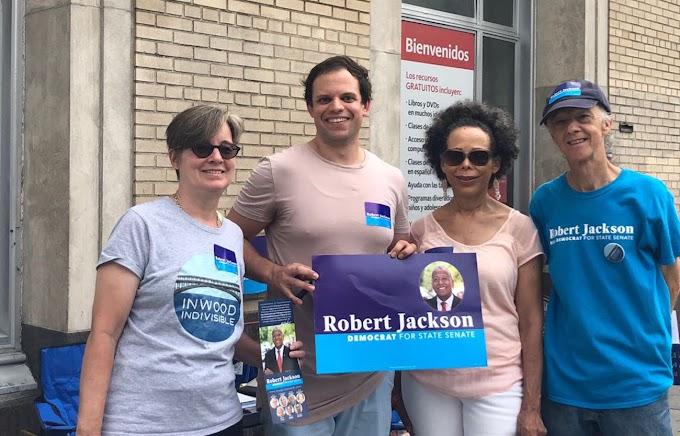 Activistas llaman a voto de castigo contra senadora Alcántara y apoyan a Jackson