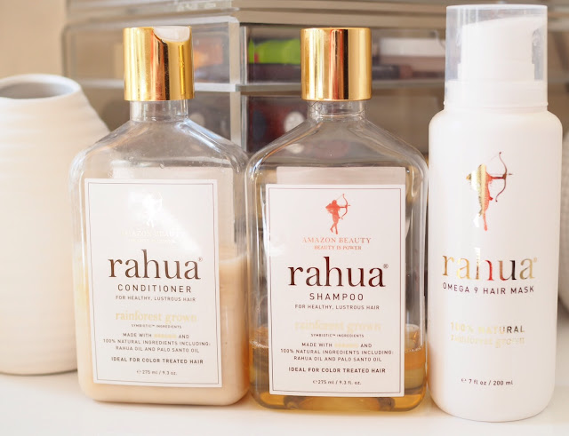 Rahua Shampoo, Conditioner and Omega 9 Mask Get Lippie 20160731