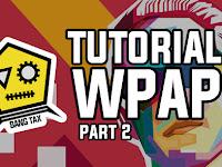 Cara Membuat WPAP Lengkap Dengan Gambar Dan Video Part 2 (Final)