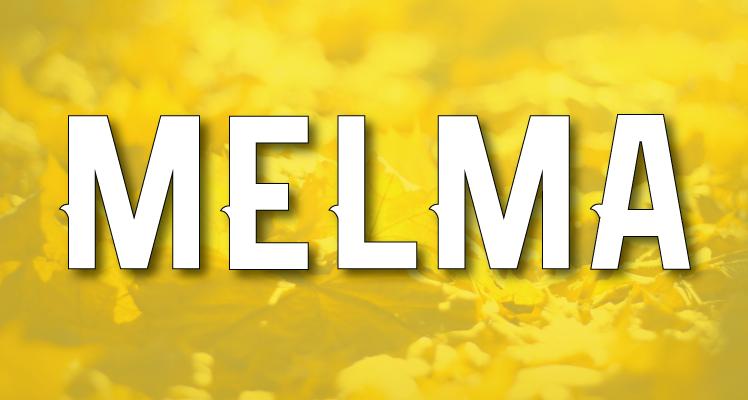 Melma Free Font Preview