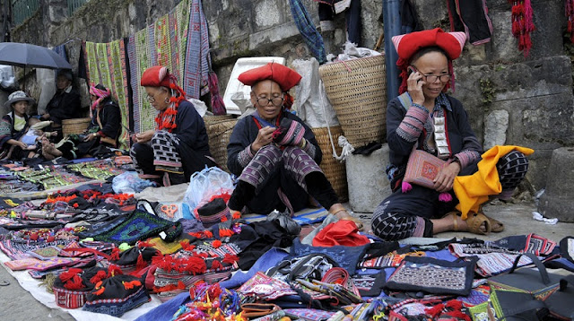 The Red Dao people of Sapa 2