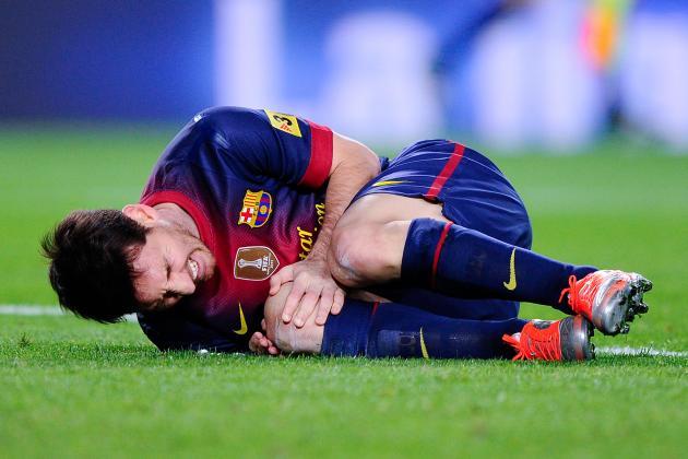 Jenis Cedera Olahraga Sepak Bola