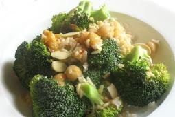 Broccoli and Chickpea Rice Salad
