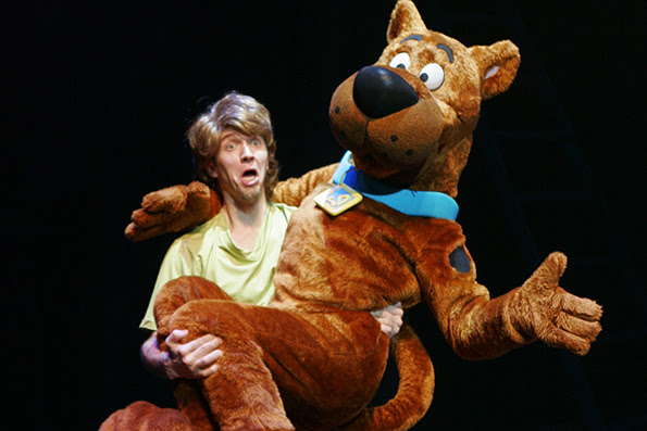 Scooby-Doo Live, London Palladium, family show, west end, west end show,