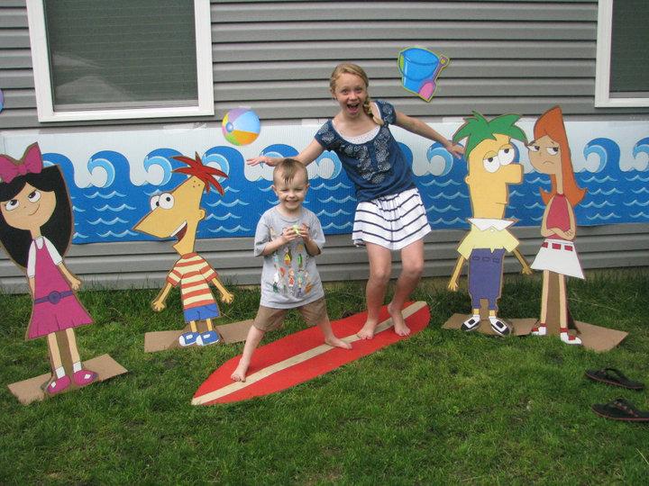 Kiki's wild creations: KIDS DIY BIRTHDAY PARTY