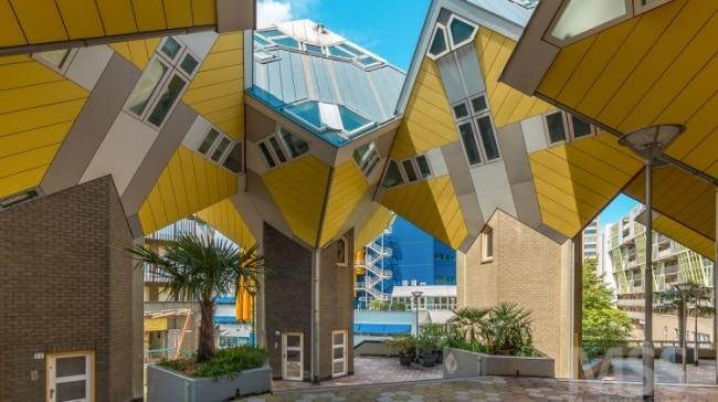 Casas em cubo