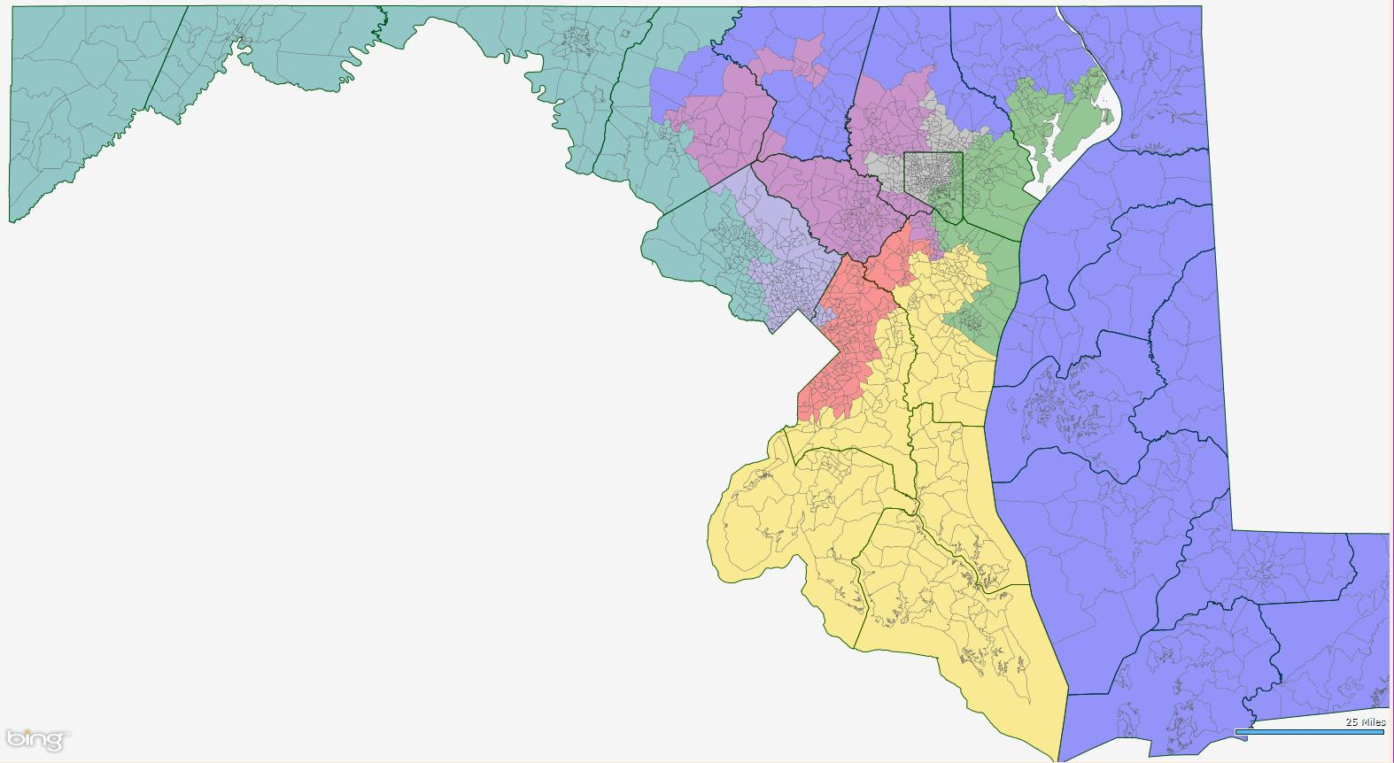 maryland 6th congressional district polls - HD1574×862