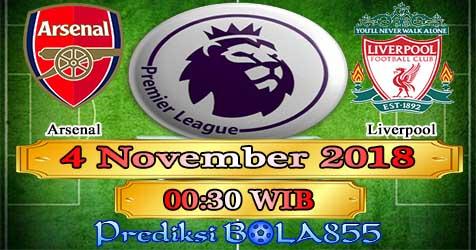 Prediksi Bola855 Arsenal vs Liverpool 4 November 2018