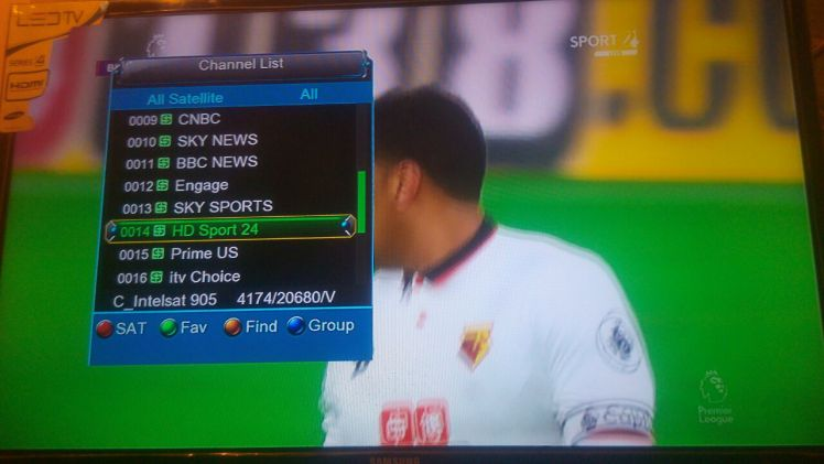 Kwese Free Sport On Eutelsat W3 7 Degree East Naijasat1