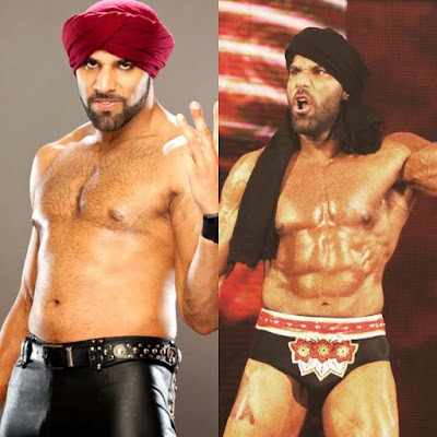 Jinder Mahal bodybuilding physique transformation