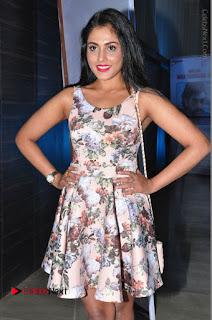 Actress Madhu Shalini Stills in Floral Short Dress at RGV Shiva to Vangaveeti Event  0094.JPG