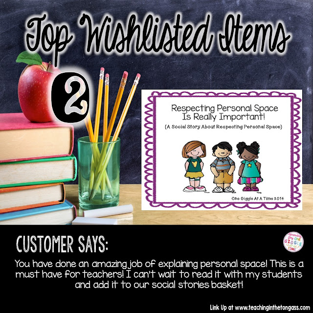 Learn about the top wishlisted items from One Giggle At A Time TPT store.