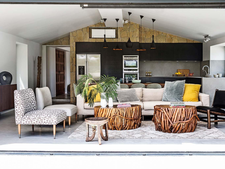 Una casa d 39 ispirazione etno chic a malaga - Casa home malaga ...