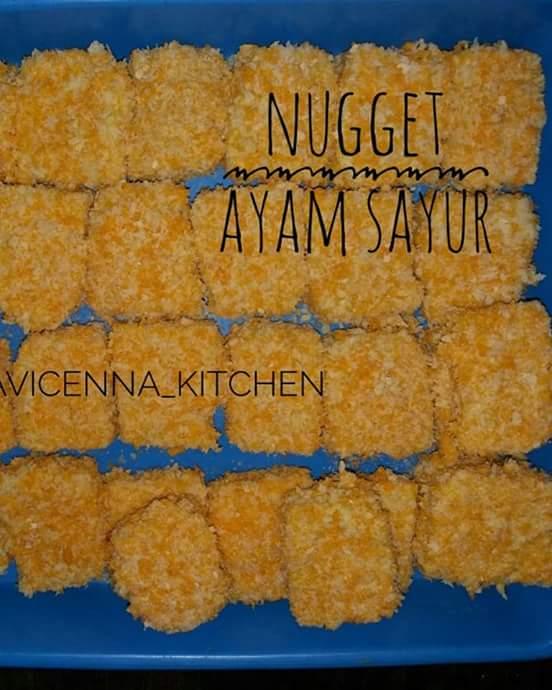 Cara Membuat Nugget Ayam Sayur : membuat, nugget, sayur, Resep, Membuat, Nugget, Yasmin, RESEPXYZ