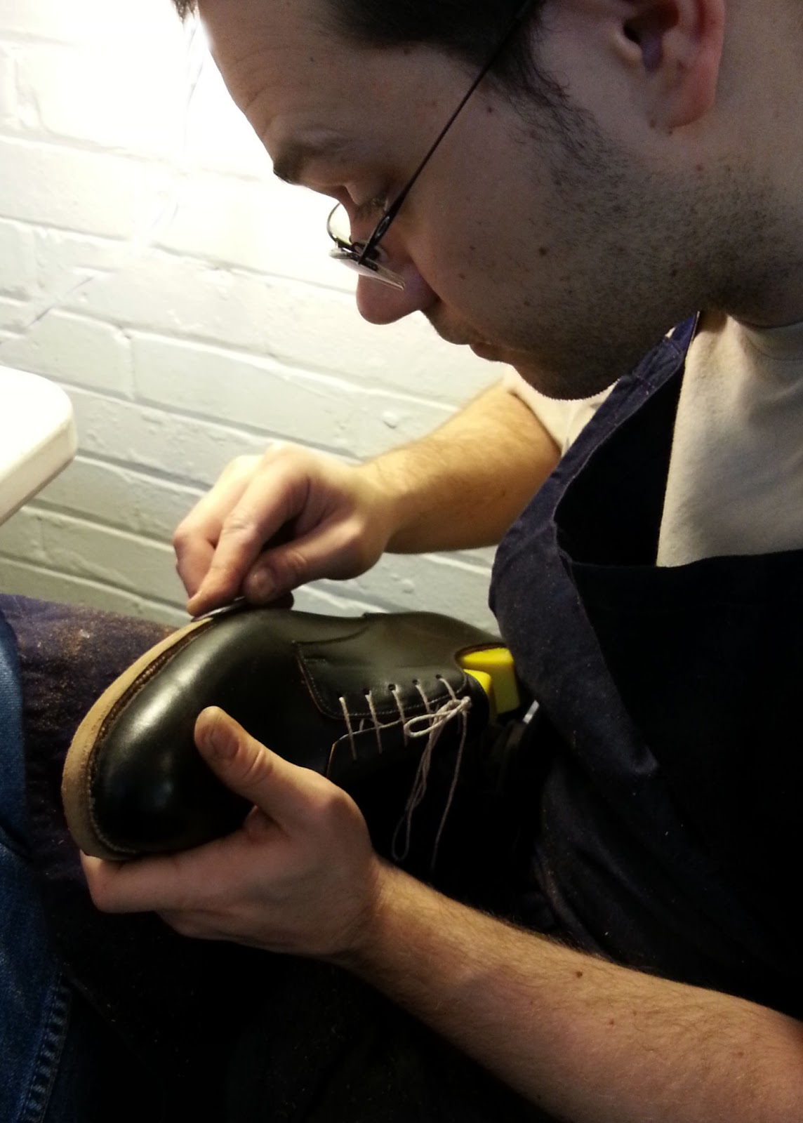 Bespoke Shoes Unlaced – a shoemaker's blog: Last day of January 2013